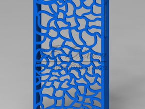 Skeleton iPhone 4 Case in Blue Processed Versatile Plastic