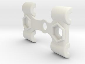 EDrum Rocket Trigger System (Top Clamp) in White Natural Versatile Plastic