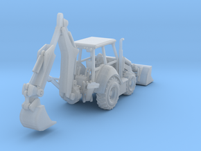 Cat 430F Backhoe Z Scale Revised in Frosted Ultra Detail