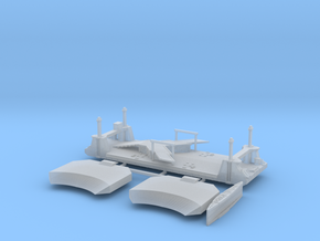 1/600 1 Off LST Pierhead in Smooth Fine Detail Plastic