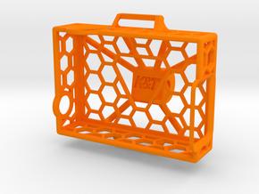 Spider Frame for a GoPro in Orange Processed Versatile Plastic