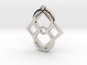 M1new in Rhodium Plated
