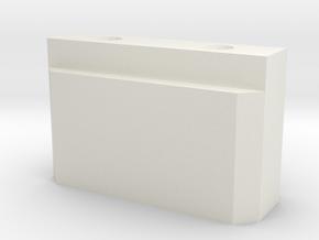 Slidy Door Part in White Natural Versatile Plastic