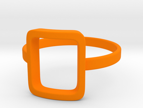Back to basic collection - size 6 US in Orange Processed Versatile Plastic