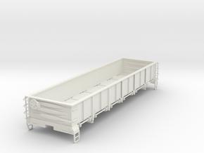 GONDOLA S Scale 1:64 in White Natural Versatile Plastic