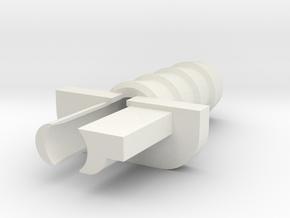 02-BR Type-00 in White Natural Versatile Plastic