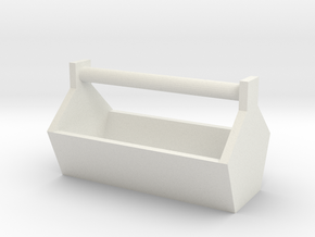 1/10 Toolbox M1 in White Natural Versatile Plastic