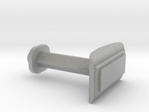 Customizable Cufflink  in Metallic Plastic