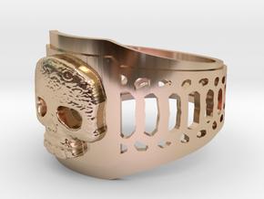 Snake in 14k Rose Gold Plated Brass