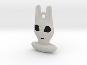 Halloween Hollowed Accessory: Bunny Ghosty in Full Color Sandstone