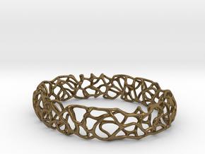 Bracelet Vines  in Polished Bronze