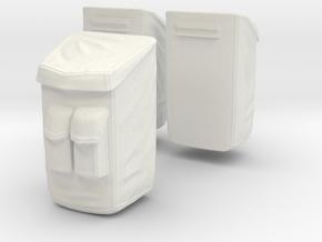 13B-Sample Bags - Apollo 17 in White Natural Versatile Plastic
