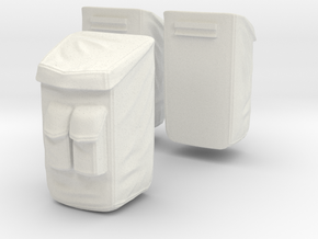 13B-Sample Bags - Apollo 17 in White Natural Versatile Plastic