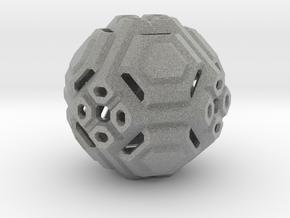 Angular ball in Metallic Plastic
