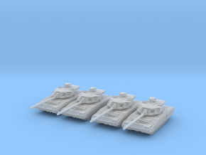 Russian T-14 Armata Main Battle Tank Platoon 6mm in Frosted Ultra Detail