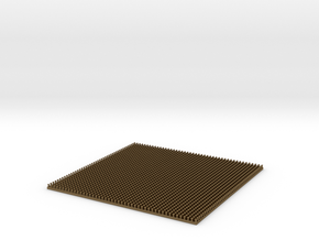 Scale Model Rivets.  2070x 0.65mm Diameter Rivets in Natural Bronze