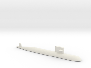 PLA[N] 093 Submarine, 1/2400 in White Natural Versatile Plastic