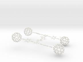 Nanocar (mini version) in White Natural Versatile Plastic