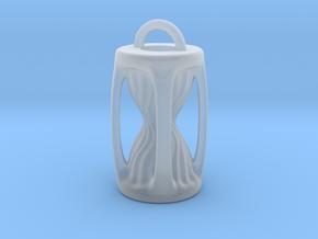 Sanduhr / Hourglass Pendant in Smooth Fine Detail Plastic