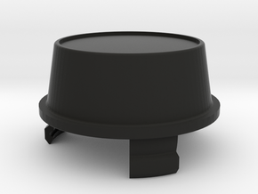 V1.4 +20mm Mercedes,vanagon Center Cap, No Logo in Black Natural Versatile Plastic