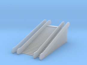 1/220 Rolltreppe doppelt / z-scale escalator 2 way in Smooth Fine Detail Plastic