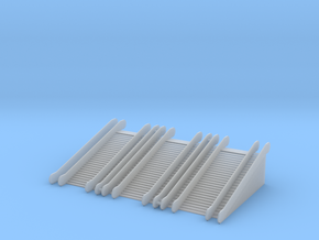 1/220 Rolltreppe doppelt im Set/ z-scale escalator in Smooth Fine Detail Plastic
