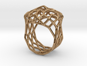 Ring Noble 18 in Polished Brass