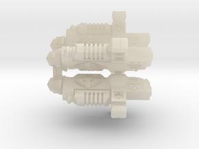 28mm Grav Guns on Sprue in White Acrylic