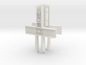 Lionel PS5 Gondola Bolster - Low detail in White Natural Versatile Plastic