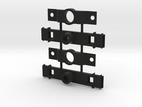 DIR OATLOP48 Roller Bearing Truck Bolster in Black Natural Versatile Plastic