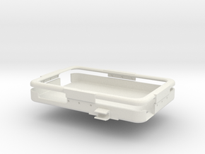 ToughPad Mount Center Thin Battery in White Natural Versatile Plastic