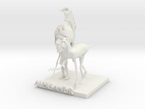 Alexandr ,his horse in White Strong & Flexible
