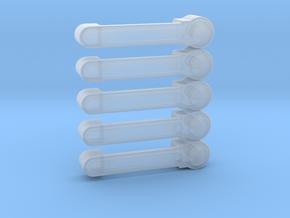 Axial JK Rubicon Door Handle **Set of 5** in Smooth Fine Detail Plastic