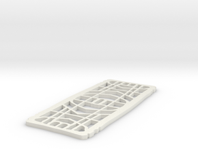 belt 2 micro in White Natural Versatile Plastic