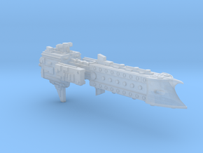 'BFG' Terran Scimitar Class Escort Ship in Smooth Fine Detail Plastic