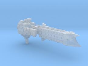 'BFG' Terran Scimitar Class Escort Ship in Smooth Fine Detail Plastic