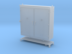 OSRC1 - Small relay / Electrical Cabinet in Smooth Fine Detail Plastic