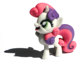 Sweetie Belle in Full Color Sandstone