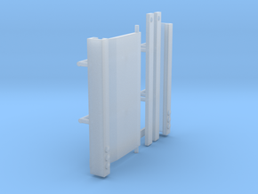 1/64th Truck or trailer Lift Gate in Smooth Fine Detail Plastic