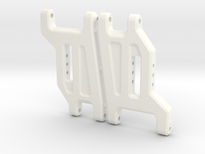 '91 Worlds Conversion - Front Arms 2.0 in White Strong & Flexible Polished