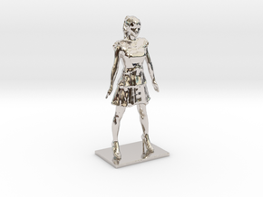 A~Chan (stand) in Rhodium Plated Brass