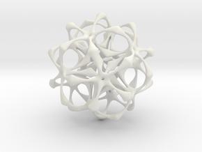 Artefact 1A in White Natural Versatile Plastic
