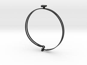 Casanova L (36,5 cm) in Black Strong & Flexible