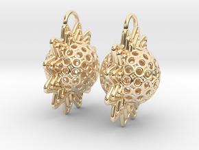 AstrosphaeraEarrings in 14k Gold Plated Brass