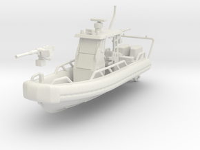 1/87 USN OSWALD PATROL BOAT SAFE BOAT in White Strong & Flexible