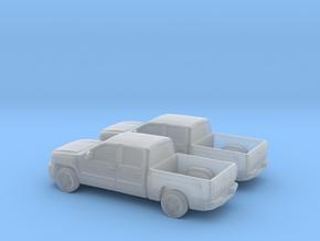 1/160 2X 2012 Chevrolet Silverado Ltz in Frosted Ultra Detail