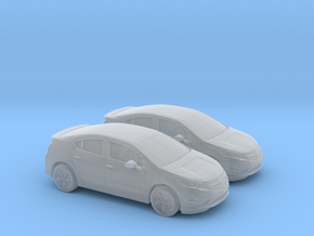 1/160 2X 2013 Chevrolet Volt in Smooth Fine Detail Plastic