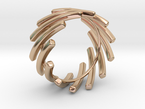 Back to basic collection - size 6 US in 14k Rose Gold
