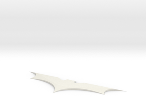 Batman Batarang in White Strong & Flexible