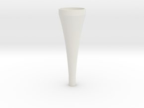 exponential horn in White Strong & Flexible
